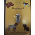 Dog Angel Pin